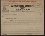 Telegram Reply Form