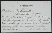 From Susan E. McGillevray to Nancy C. Russell