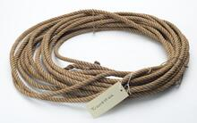 Light tan rope bound together