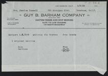 From Guy B. Barham Company to Nancy C. Russell