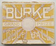 Golf ball box lid