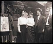 Ella Ironside with Nancy C. Russell and Charles M. Russell