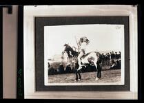 Indian Man on Horseback