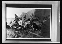 Indian Men on Horseback