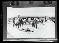 Cowboys in Corral