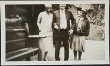 Charles M. Russell and Nancy C. Russell with Unknown Woman