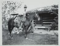 Charles M. Russell on Horse