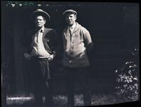 Charles M. Russell and Unknown Man