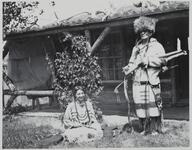 Charles M. Russell and Unknown Woman