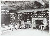 Inside of Charles M. Russell's Studio