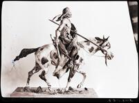 Plaster Model of Indian and Horse