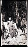 Charles M. Russell with Horses