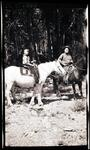 Charles M. Russell and Jack Russell on Horses