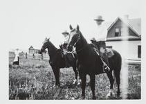 Man and Woman on Horses