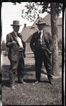 Charles M. Russell with Ed Borein