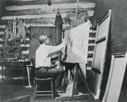 Charles M. Russell Painting