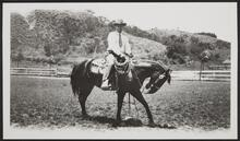 Unknown Man on a Horse