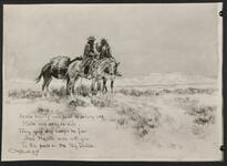 Illustrated poem by Charles M. Russell