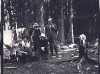 Group of People in Camp