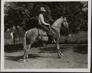 Con Price on Horse