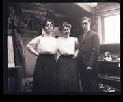 Ella Ironside, Nancy C. Russell, and Austin Russell