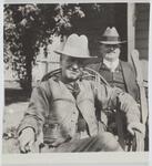 Homer Britzman and Unknown Man
