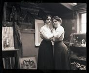 Nancy C. Russell and Ella Ironside