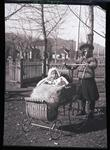 Woman with Baby in Stroller