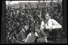Group in Corn Field