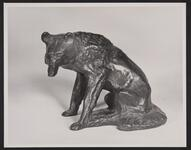 Seated Wolf