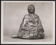 Seated Indian Maiden