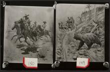 Two Images of Western Paintings