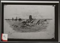 Indians Crossing the Plains