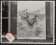 Runaway Horses with Wagon