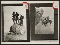 Sacajawea and Lewis and Clark, Indians Outside of Stockade