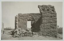 Ruined Adobe Building