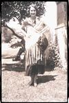 Woman in Mexican Shawl