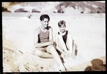 Two Boys at Beach