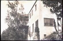 Corner View of Stucco House