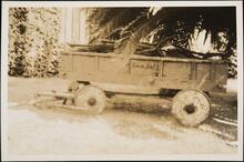 Wood-Wheeled Wagon