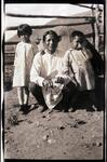 Indian Man with Two Children