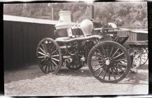 Horse-Drawn Fire Wagon