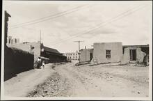 Street With Adobe Houses