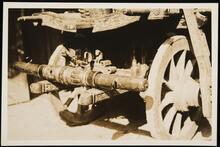Detail of Underside of Wagon
