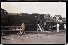 Steam Locomotive SP # 38