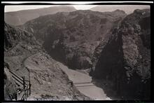 Hoover Dam Site at Black Canyon