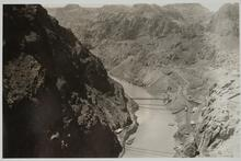 Hoover Dam Site at Black Cannon