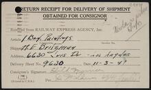 Railway Express Ticket