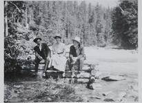 Charles M. Russell with Friends