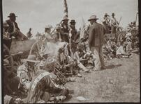 Charles M. Russell and Nancy C. Russell at Fort Belknap Reservation